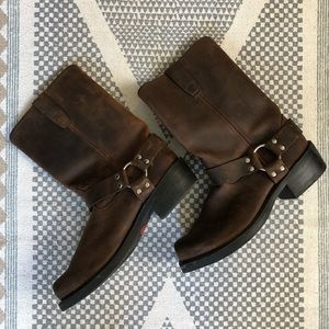Brown Leather Durango Boots